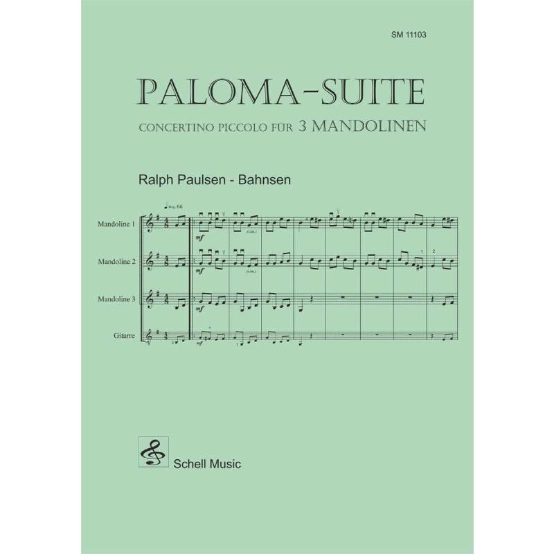 Titelbild für SCHELL 11103 - PALOMA SUITE