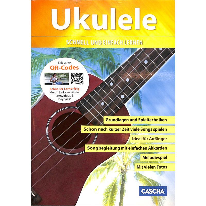 Titelbild für CASCHA -HH1301 - Ukulele - Schnell und einfach lernen