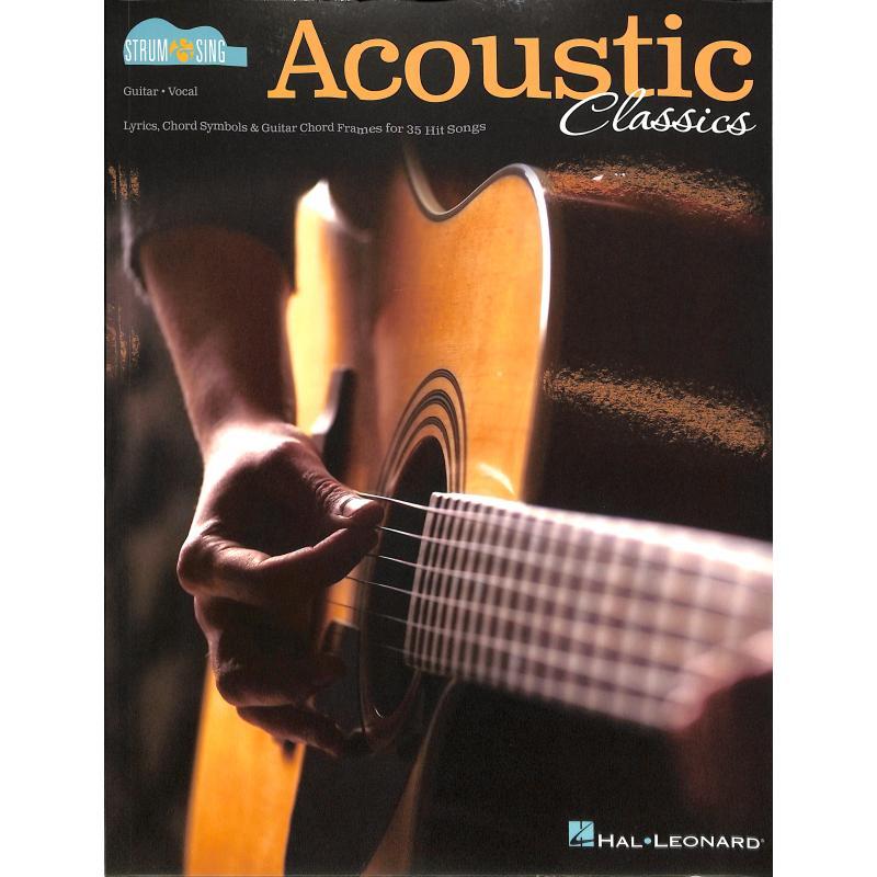 Titelbild für HL 191891 - Acoustic classics