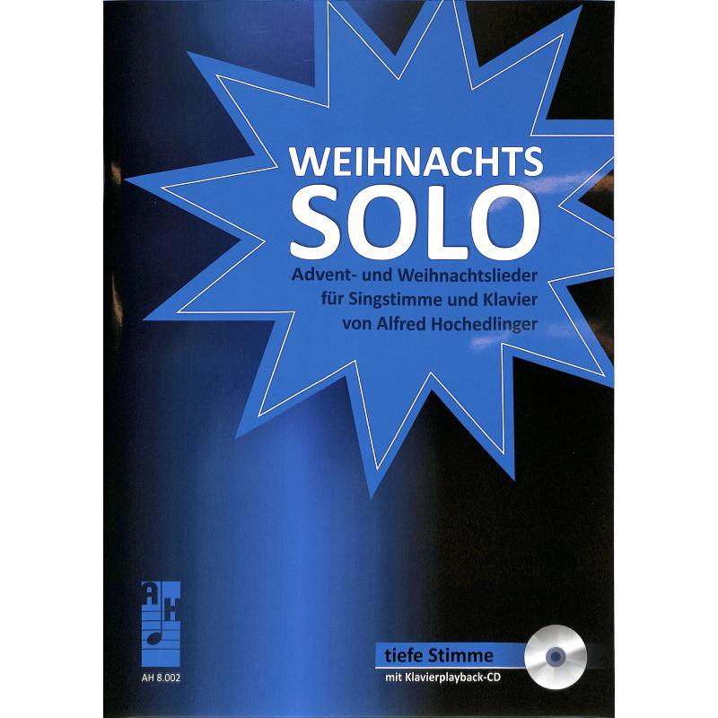 Titelbild für AH 8002 - Weihnachts Solo