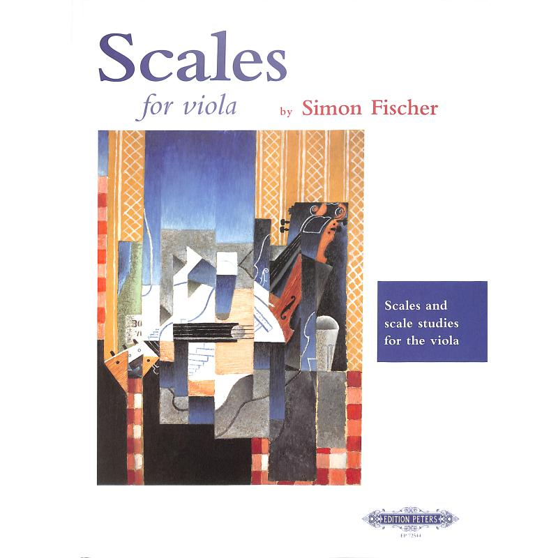 Titelbild für EP 72544 - SCALES FOR VIOLA