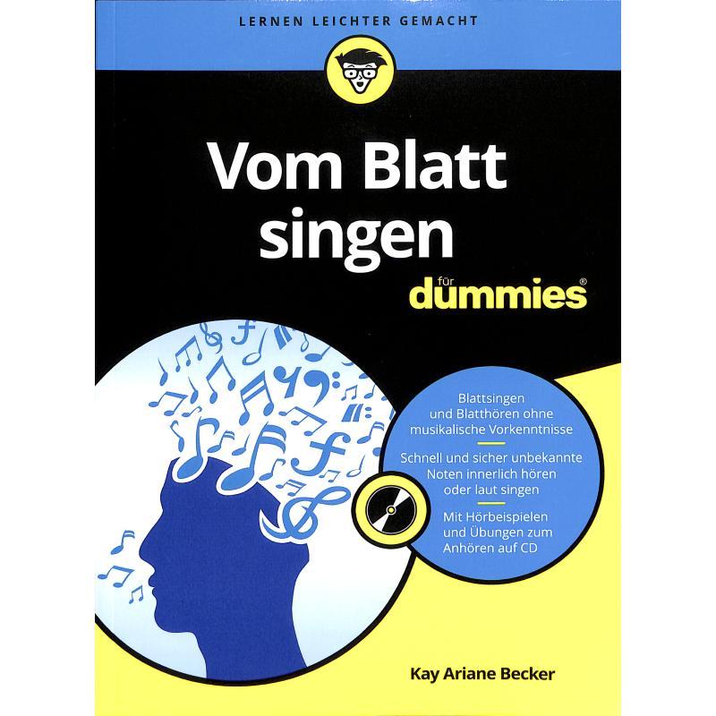 Titelbild für 978-3-527-71260-1 - Vom Blatt singen fuer dummies