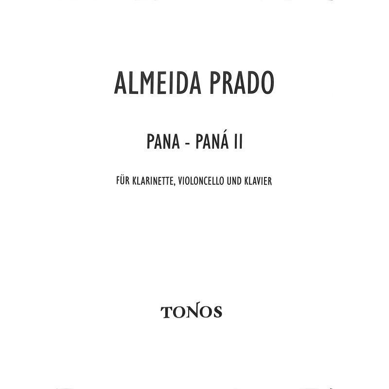 Titelbild für TONOS 10363-2 - Pana Pana 2