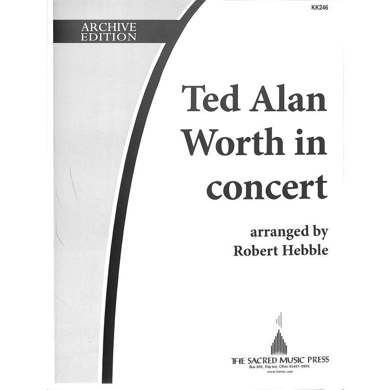 Titelbild für SACRED -KK246 - Ted Alan Worth in concert