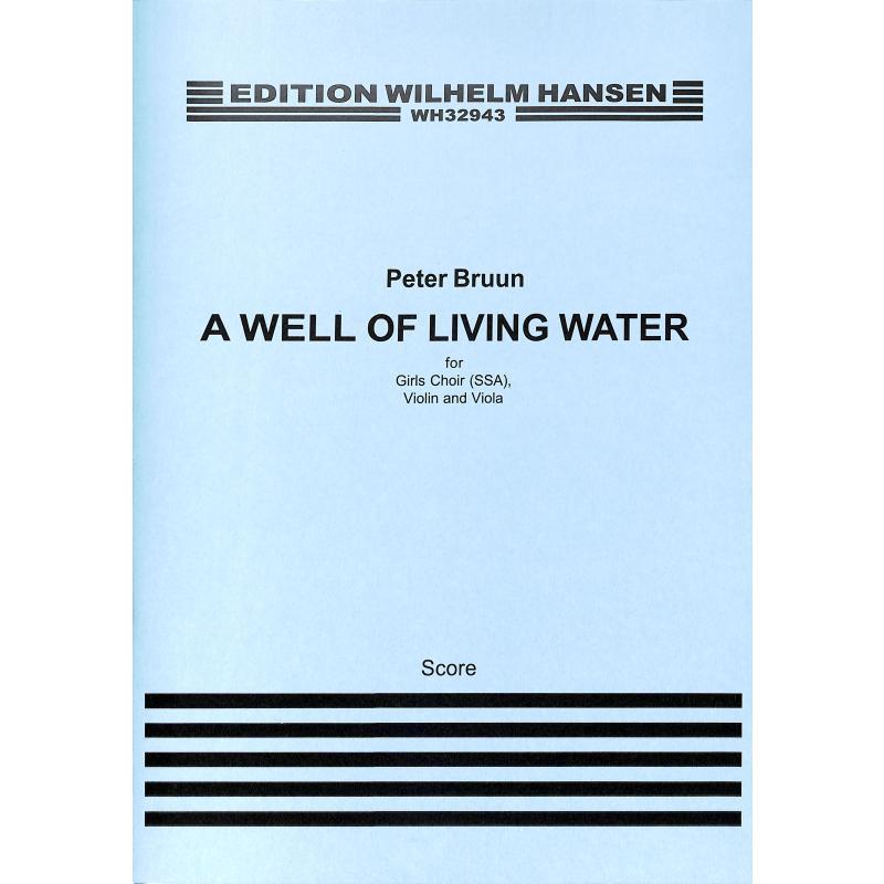 Titelbild für WH 32943 - A well of living water