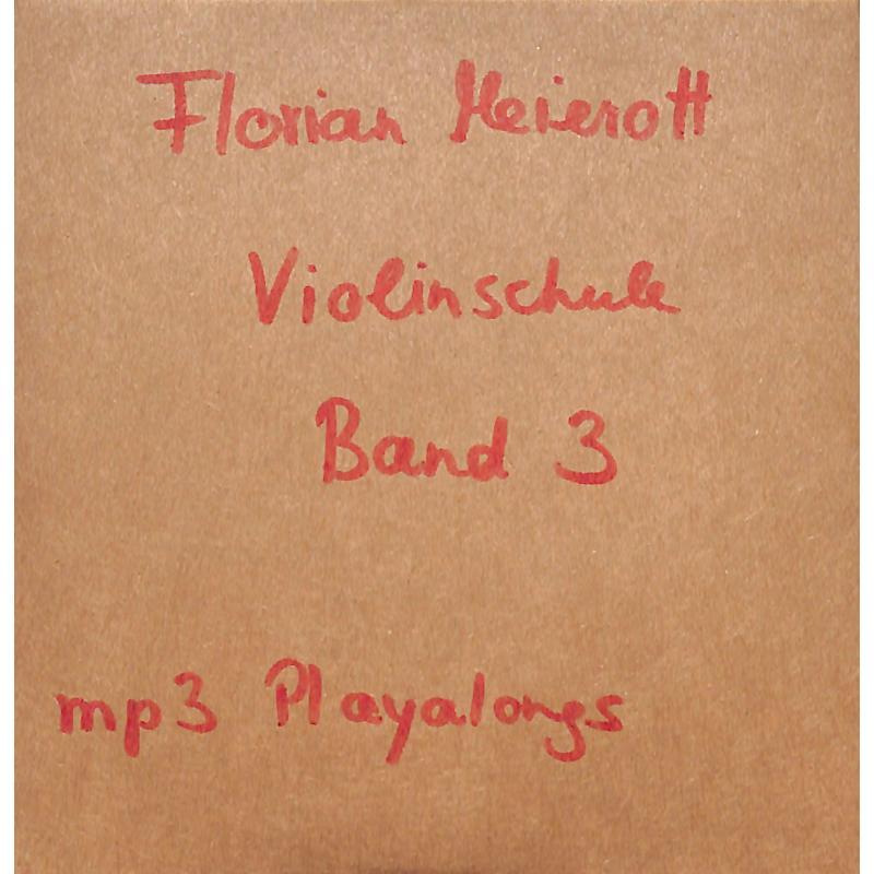 Titelbild für GN 022610 - Violinschule 3