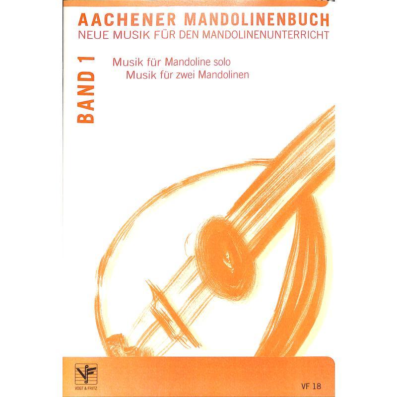Titelbild für VOGT 18 - Aachener Mandolinenbuch 1