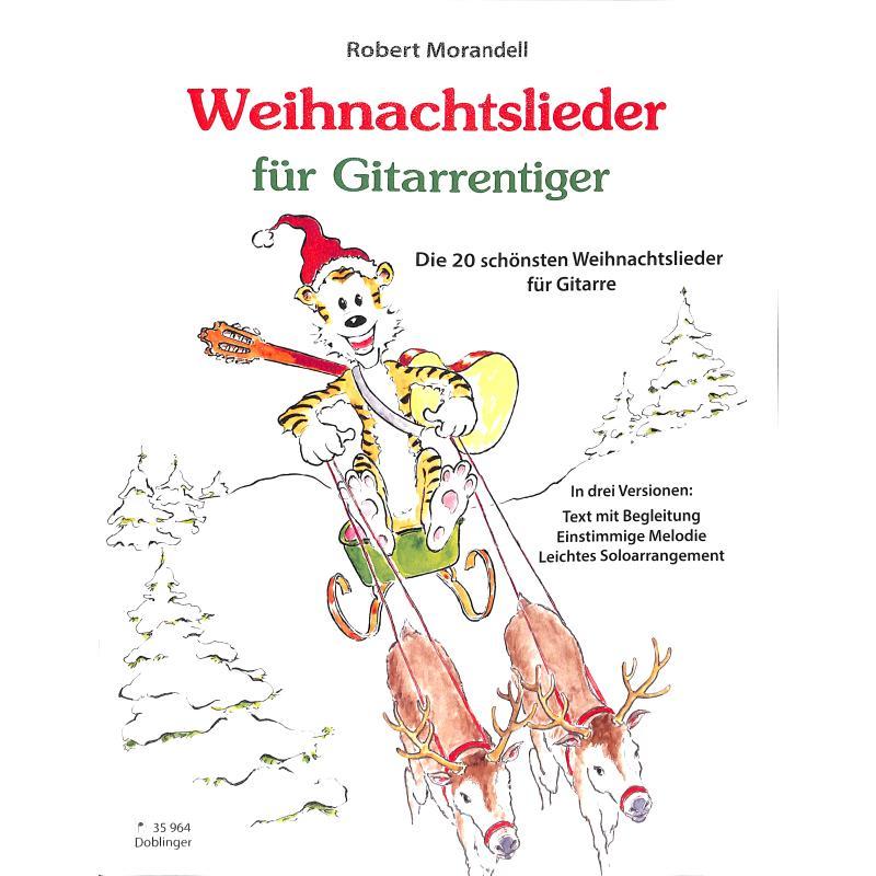 Titelbild für DO 35964 - Weihnachtslieder für Gitarrentiger