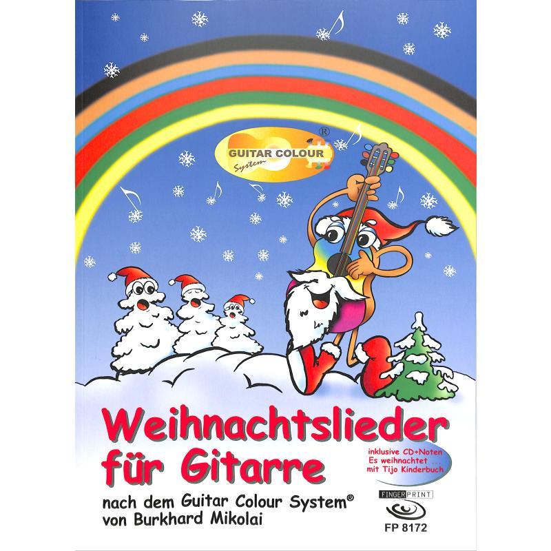 Titelbild für FP 8172 - Weihnachtslieder für Gitarre
