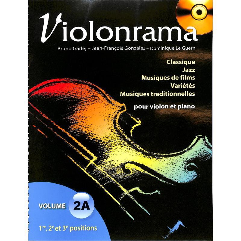Titelbild für HIT -PCVIORAMA2A - Violonrama 2a