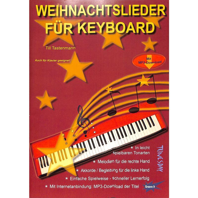 Titelbild für TUN 34 - Weihnachtslieder für Keyboard