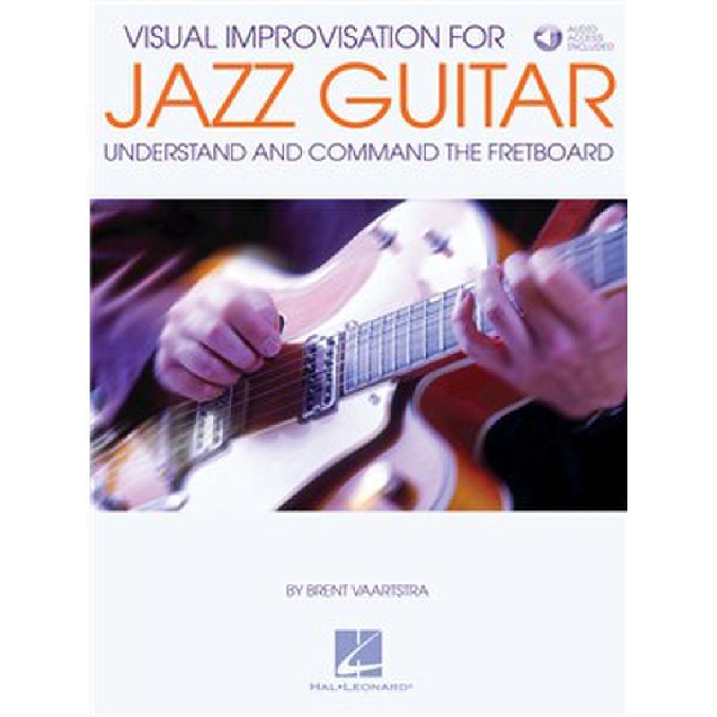 Titelbild für HL 191843 - Visual improvisation for Jazz Guitar