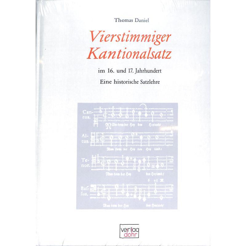 Titelbild für 978-3-936655-19-3 - Vierstimmiger Kantionalsatz im 16 + 17 Jahrhundert