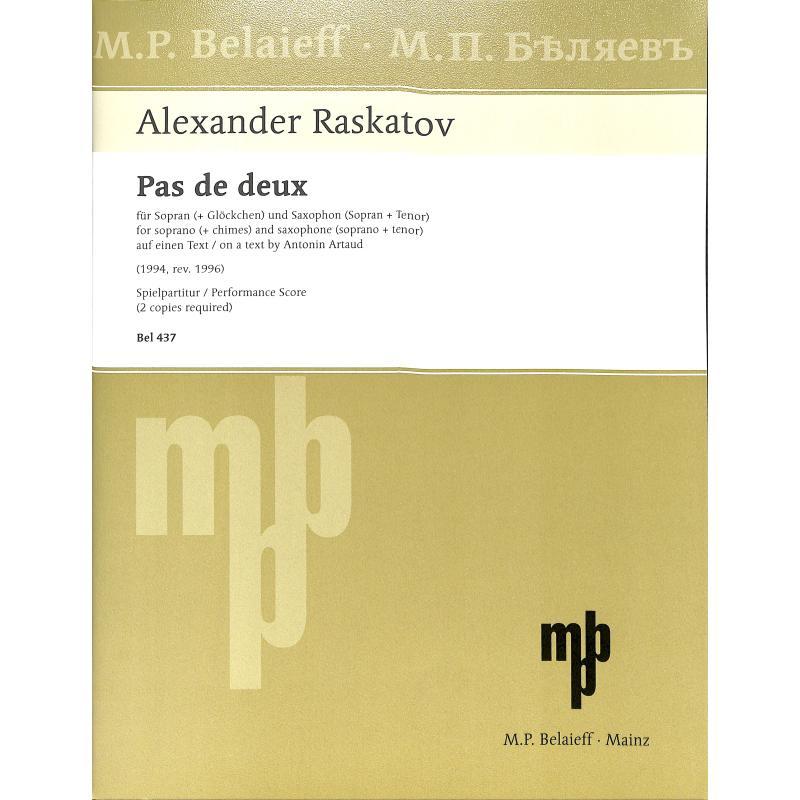 Titelbild für BEL 437 - Pas de deux