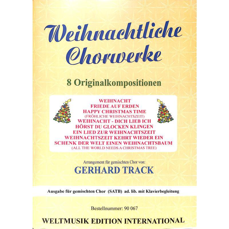 Titelbild für WM 90067 - Weihnachtliche Chorwerke
