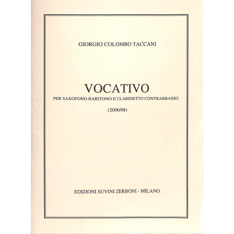 Titelbild für ESZ 13314 - Vocativo