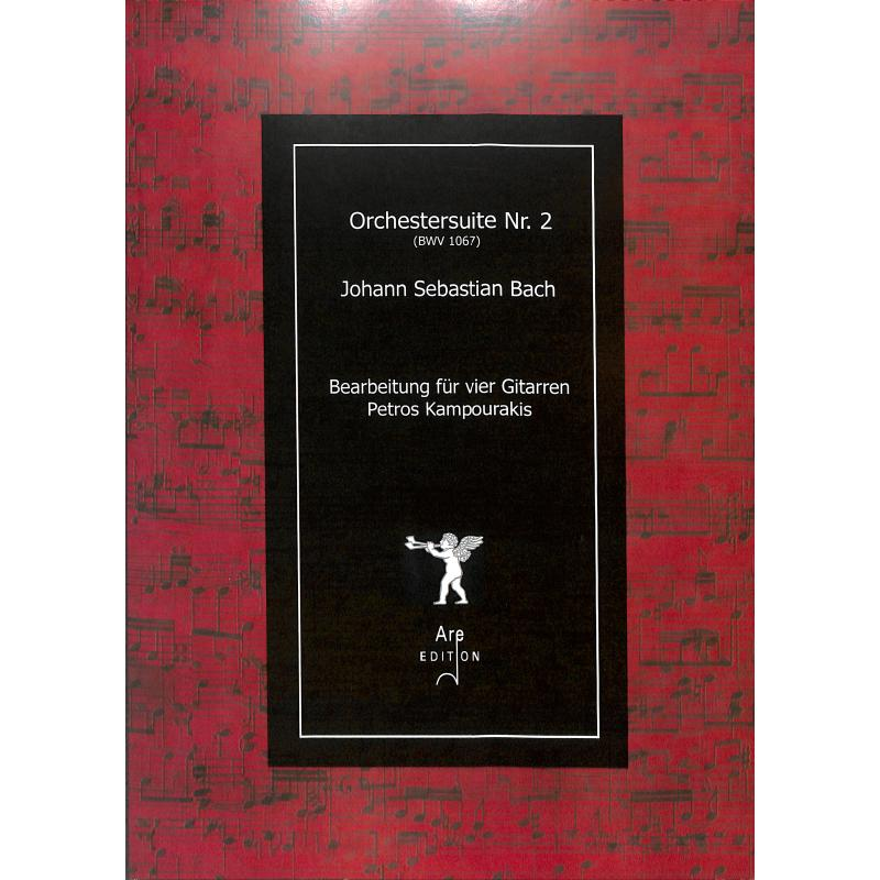Titelbild für ARE 2300 - Ouvertüre (Orchestersuite) 2 h-moll BWV 1067
