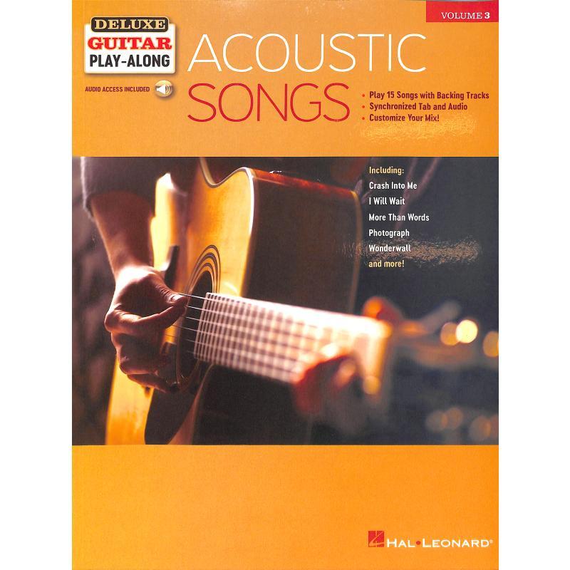 Titelbild für HL 244709 - Acoustic songs