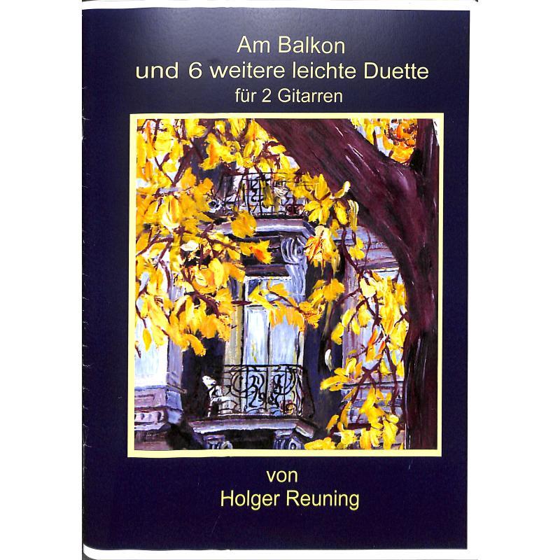 Titelbild für BM 3028 - Am Balkon und 6 weitere leichte Duette