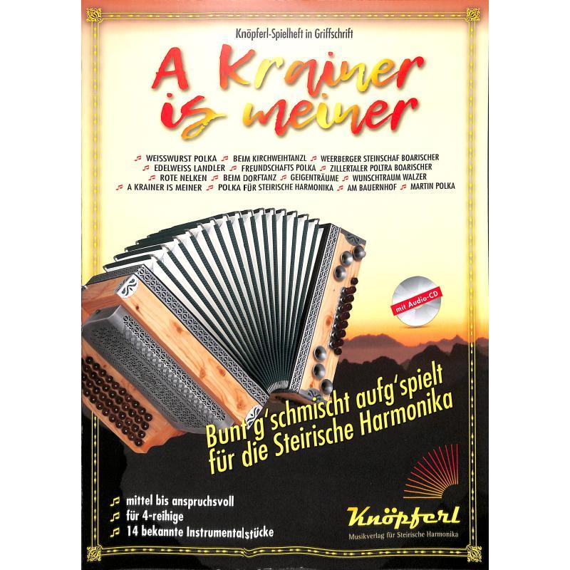 Titelbild für KNOEPFERL -IH1031 - A Krainer is meiner