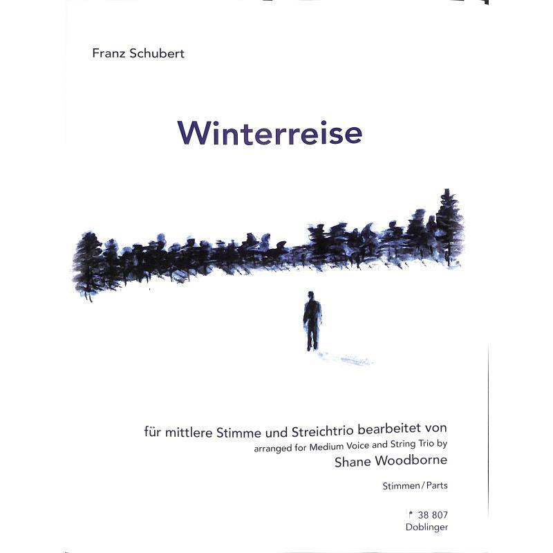 Titelbild für DO 38807-ST - Winterreise op 89 D 911