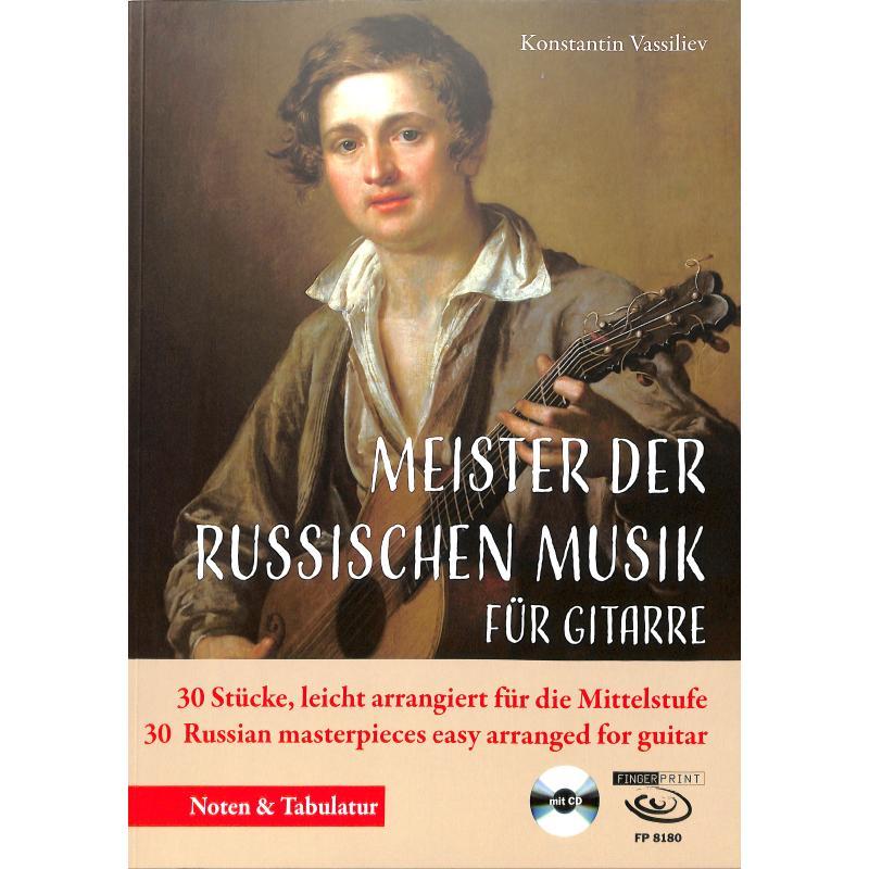 Titelbild für FP 8180 - Meister der russichen Musik