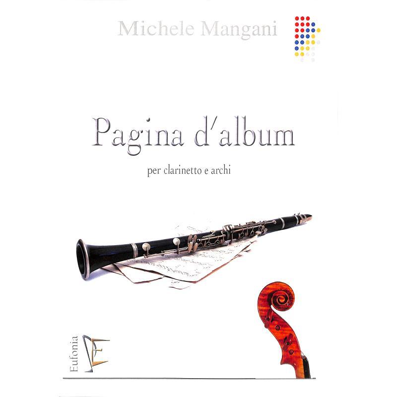 Titelbild für EUFONIA 08593C - Pagina d'album