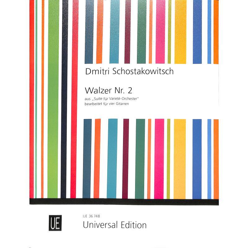 Titelbild für UE 36748 - Walzer 2