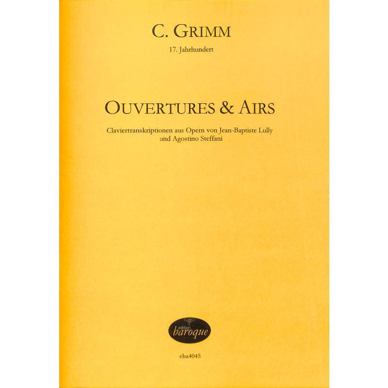 Titelbild für BAROQUE 4045 - Ouvertures + Airs