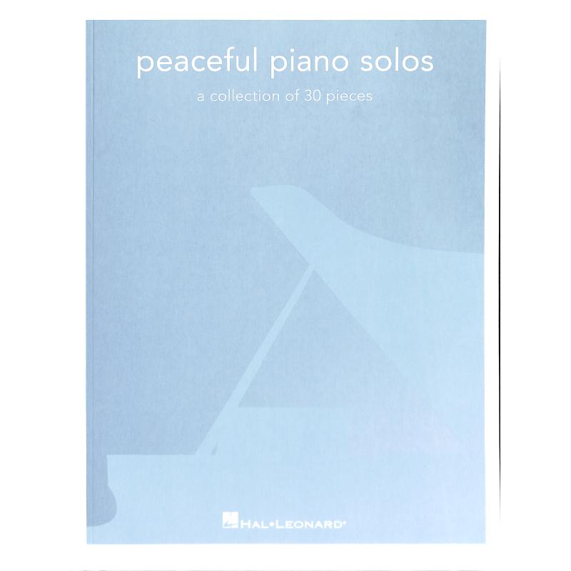 Titelbild für HL 286009 - Peaceful piano solos | A collection of 20 pieces