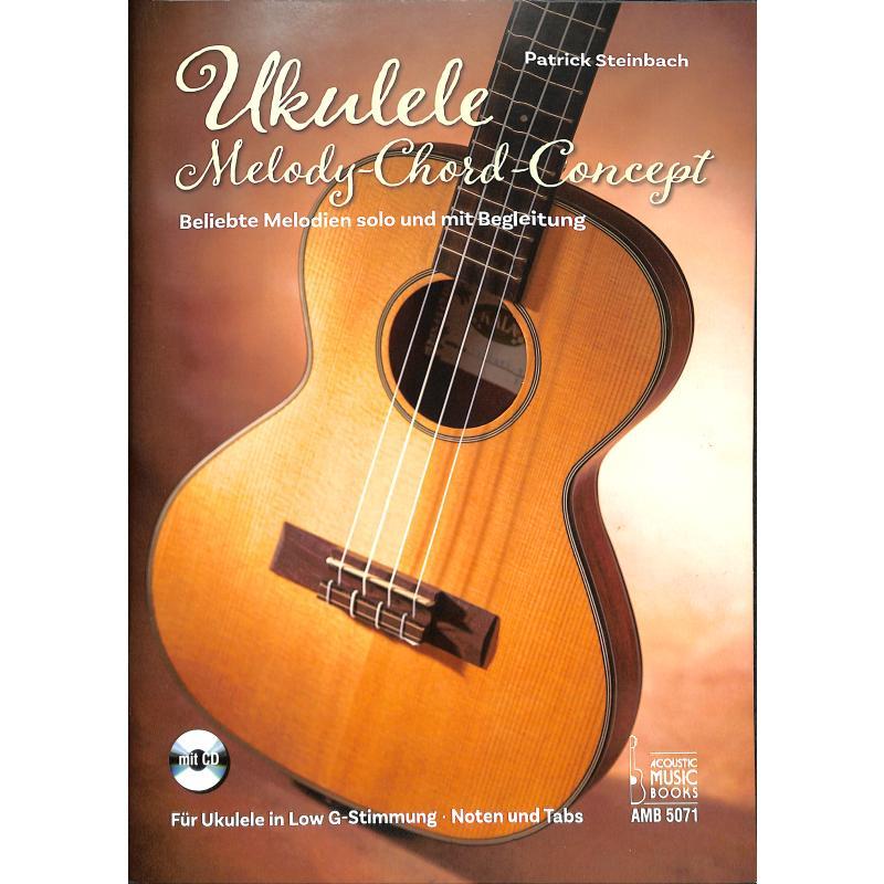 Titelbild für AMB 5071 - Ukulele Melody Chord Concept