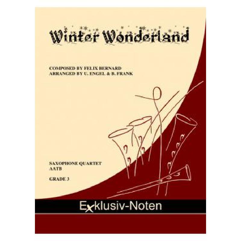 Titelbild für EXKLUSIV -SAX1103 - Winter wonderland