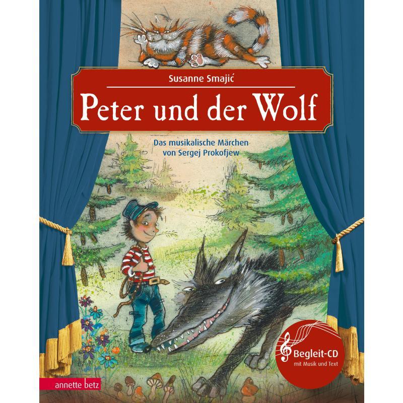 Titelbild für 978-3-219-11776-9 - Peter und der Wolf - sinfonisches Märchen von Sergei Prokofieff