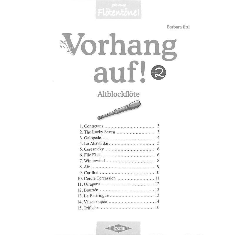 Titelbild für VHR 3628-A - Vorhang auf 2