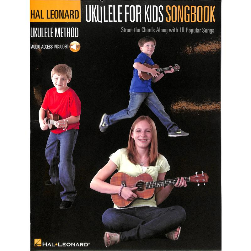 Titelbild für HL 153137 - Ukulele for Kids - Songbook