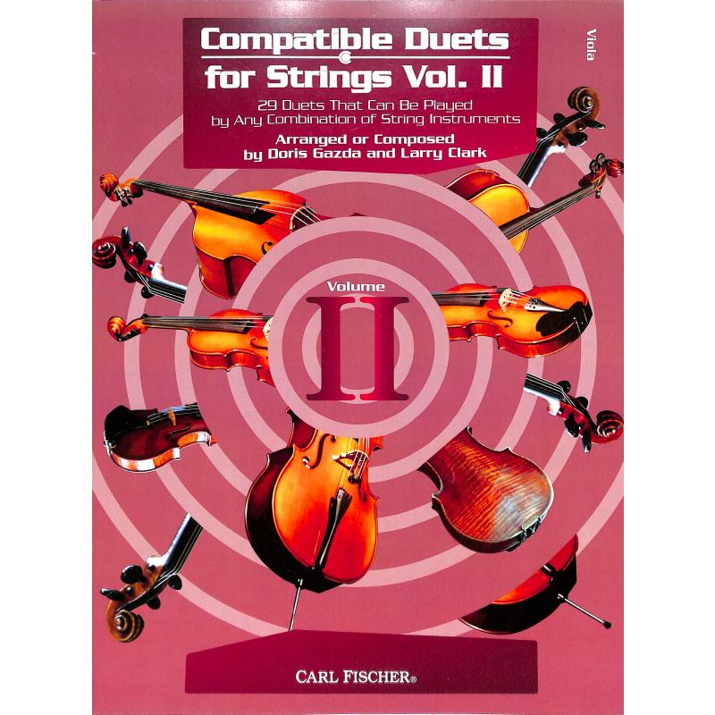 Titelbild für CF -BF119 - Compatible Duets for strings 2