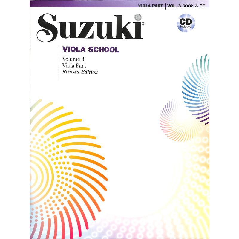 Titelbild für ALF 40691 - Viola school 3 - revised edition
