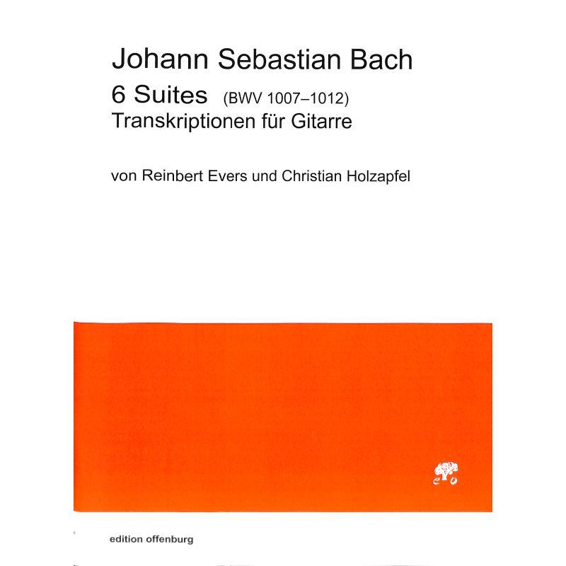 Titelbild für OFFENB -BC-1181 - 6 Suiten BWV 1007-1012