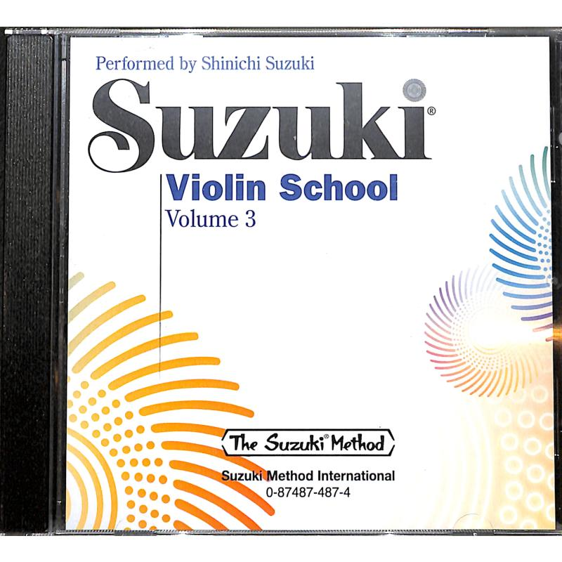 Titelbild für SBMT 0487 - Violin school 3