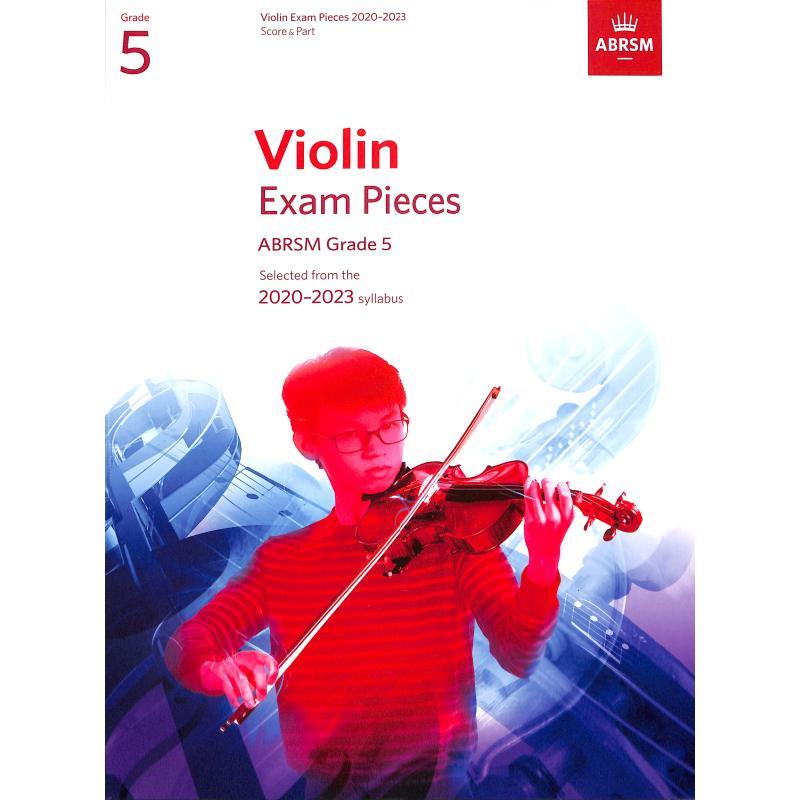 Titelbild für 978-1-78601-248-7 - Violin exam pieces 5 - 2020-2023