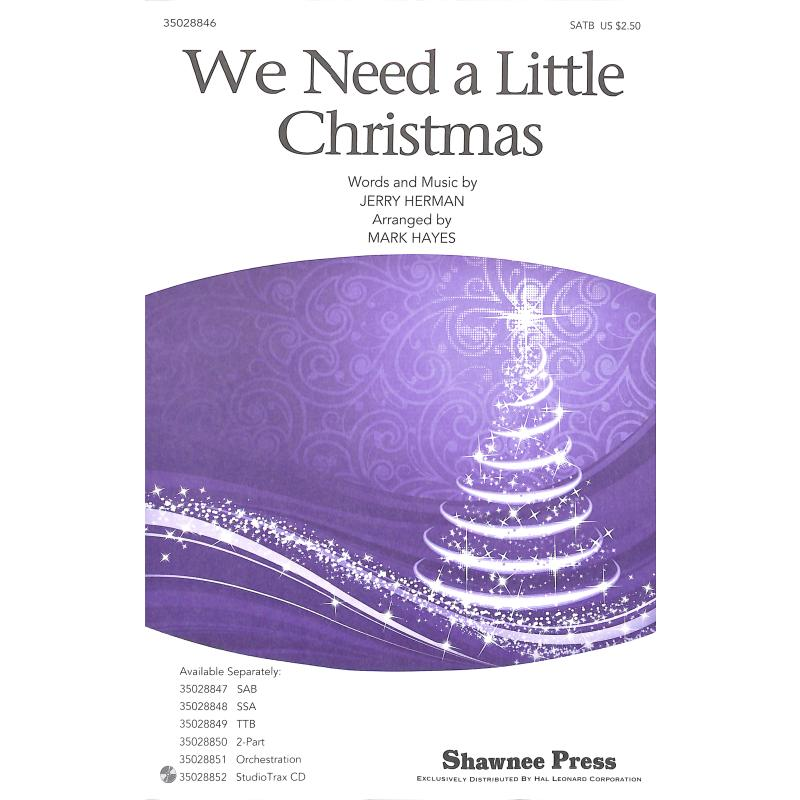 Titelbild für HL 35028846 - We need a little christmas