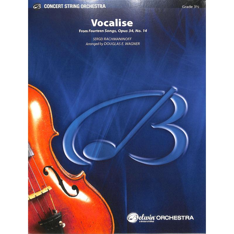 Titelbild für ALF 43781 - Vocalise op 34/14