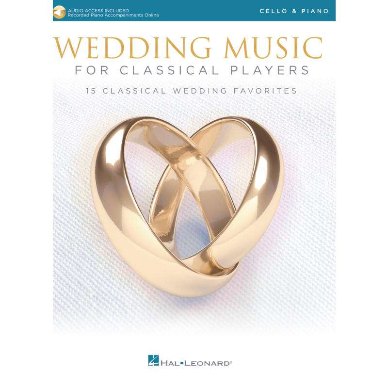 Titelbild für HL 261621 - Wedding music for classical players