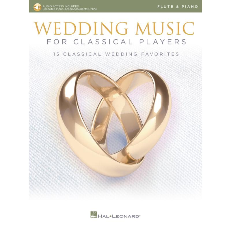 Titelbild für HL 261622 - Wedding music for classical players