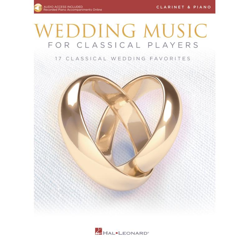 Titelbild für HL 261623 - Wedding music for classical players