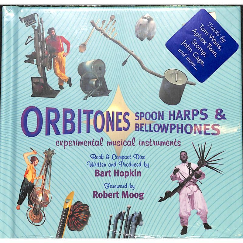 Titelbild für ELLI 3610 - Orbitones spoon harps + bellowphones | Experimental musical instruments