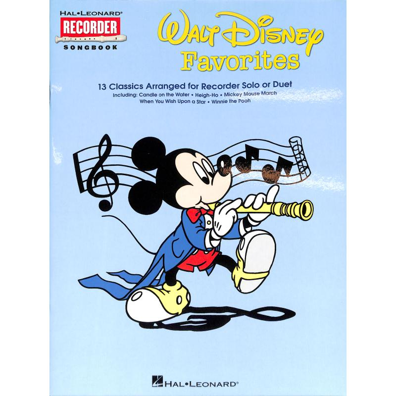 Titelbild für HL 710100 - Walt Disney favorites