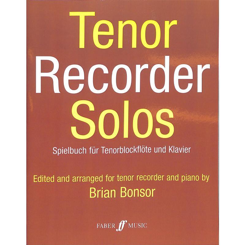 Titelbild für ISBN 0-571-50840-5 - Tenor recorder solos