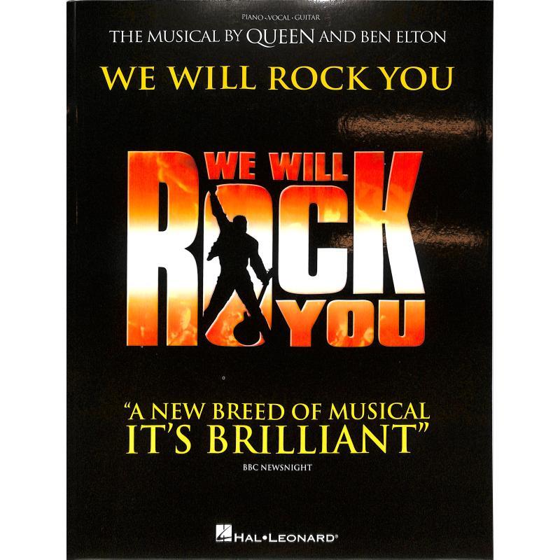 Titelbild für HL 119131 - We will rock you - Queen Musical