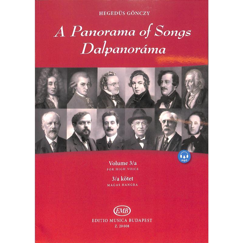 Titelbild für EMB 20008 - A panorama of songs 3A   Dalpanorama